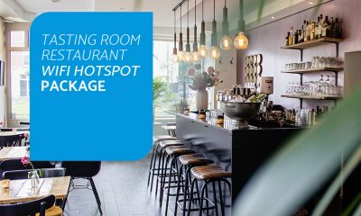 Tasting Room Restaurant Wifi Hostpot Package
